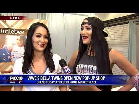 WWE's Bella Twins open pop-up shop in Arizona