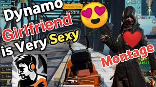 Pubg Asia Conqueror Pro Player Dynamo Girl Friend is Very Sexy 😍 Dynamo Gaming Pubg Kar98 Montage