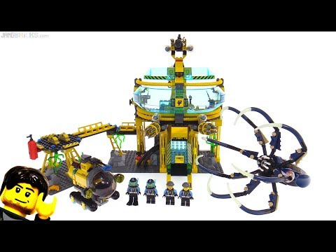 LEGO Aqua Raiders Aqua Base Invasion from  set 7775