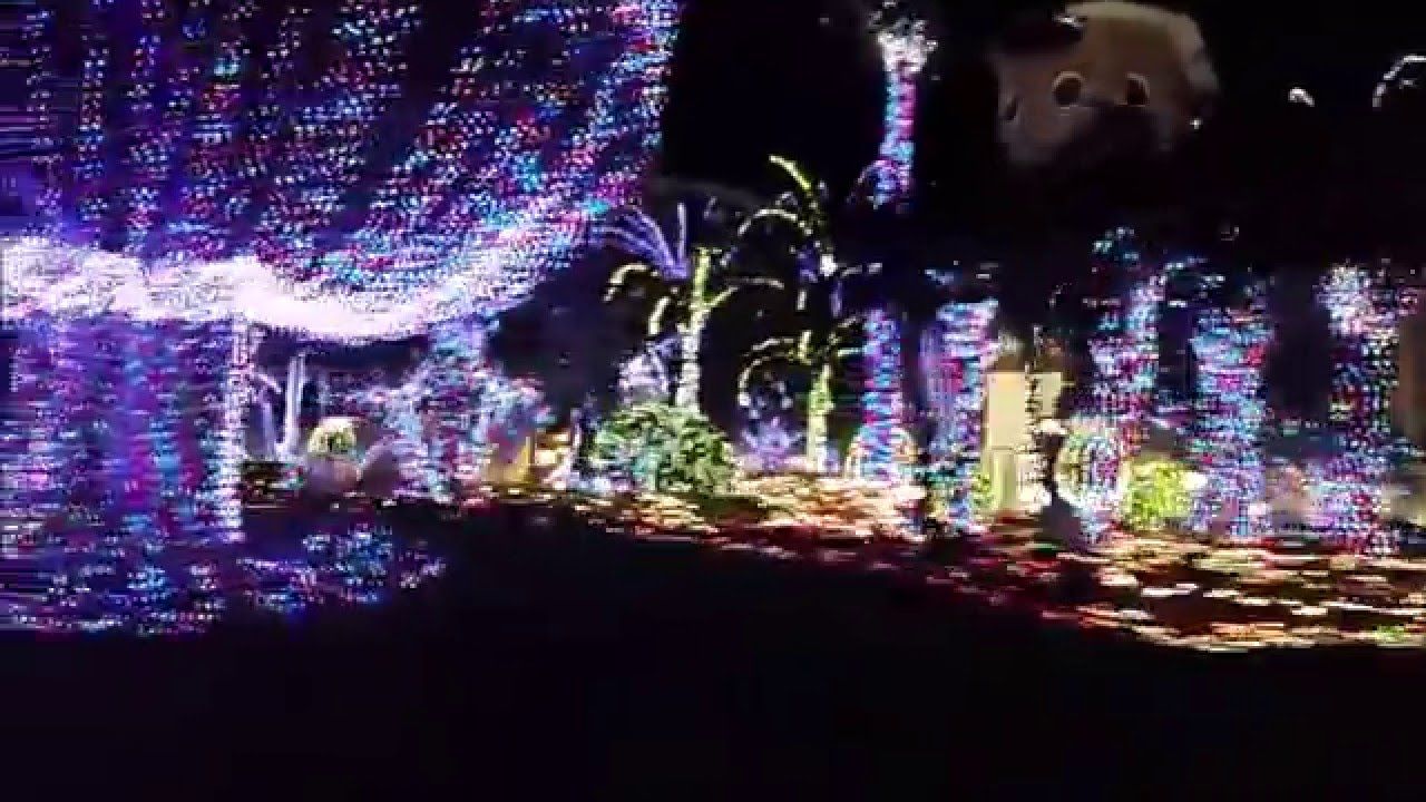 hutchinson island mansion christmas lights jensen beach fl youtube - Mansion Christmas Decorations