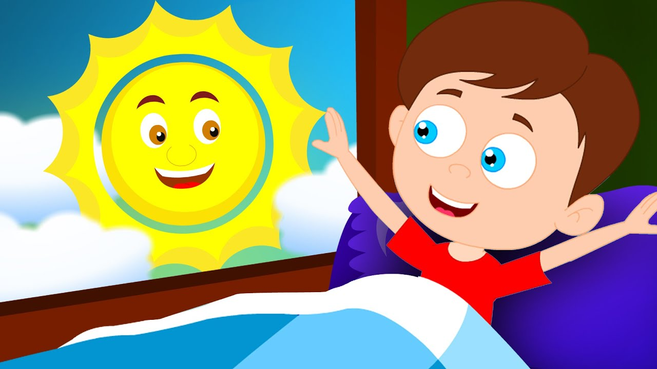 Morning Song Let S Wakeup Original Nursery Rhyme Childrens Rhymes Kids Tv You