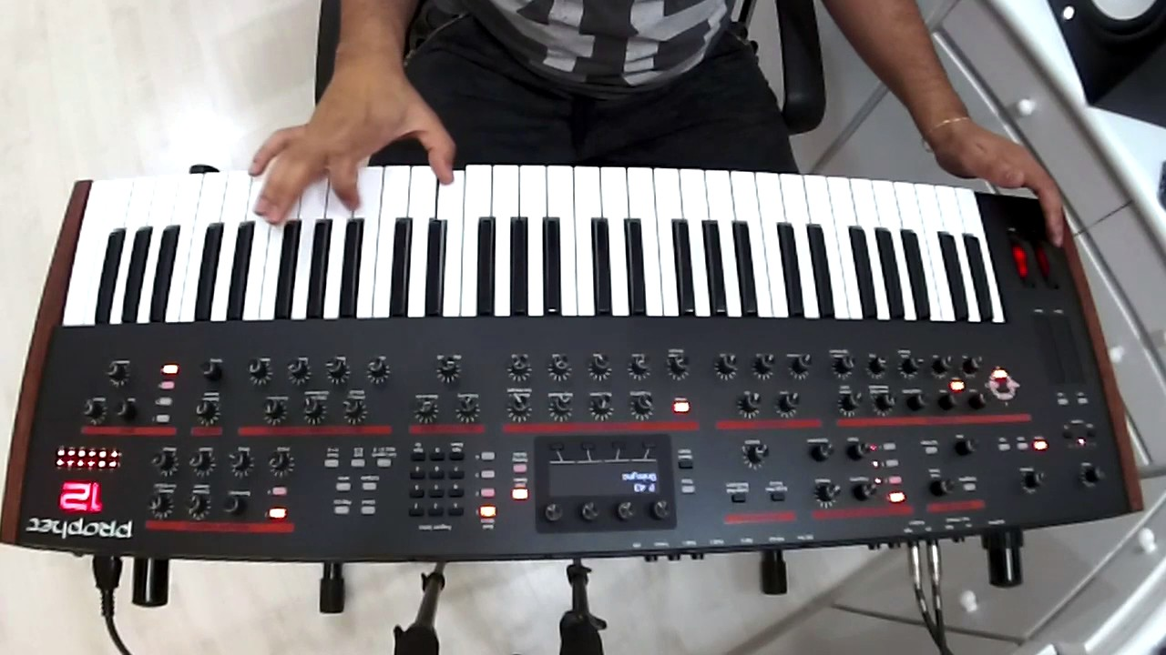 New Coffee Cups Synth Demos Updates >> Prophet 12 Dave Smith S Instruments Demo Youtube