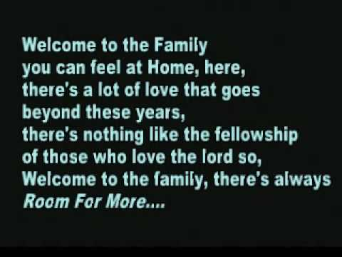 Welcome To the Family - Booth Brothers with Lyrics