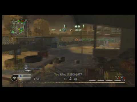 xXxI Ninja IxXx - Cod4 - Good R700 Match Travel Video