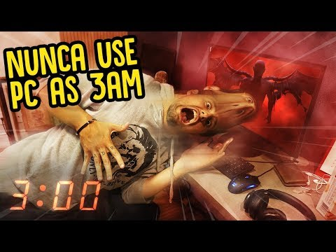 NUNCA USE O PC AS 3AM DA MANHÃ  REZENDE EVIL