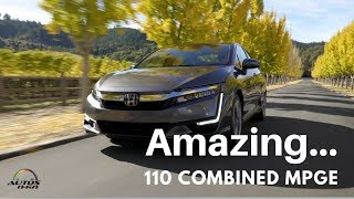 2018 Honda Clarity Plug-in Hybrid 1st. Look On The Road In Napa Valley