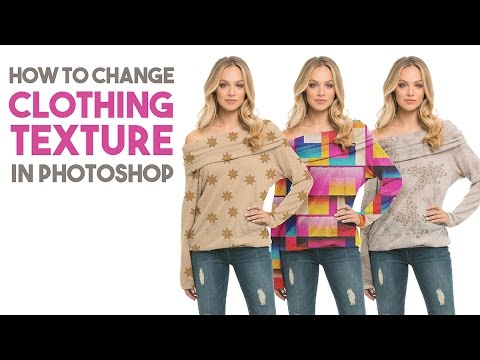 How to Change Clothing Texture in Photoshop