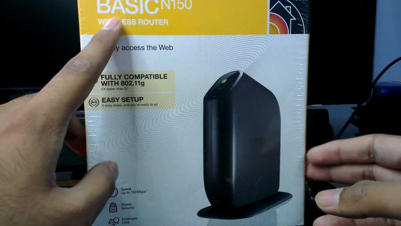 BELKIN BASIC WIRELESS ROUTER N150 DRIVER WINDOWS 7 (2019)