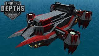 Missile Artillery Airship New Swarm AND Large Missiles From The Depths Gameplay