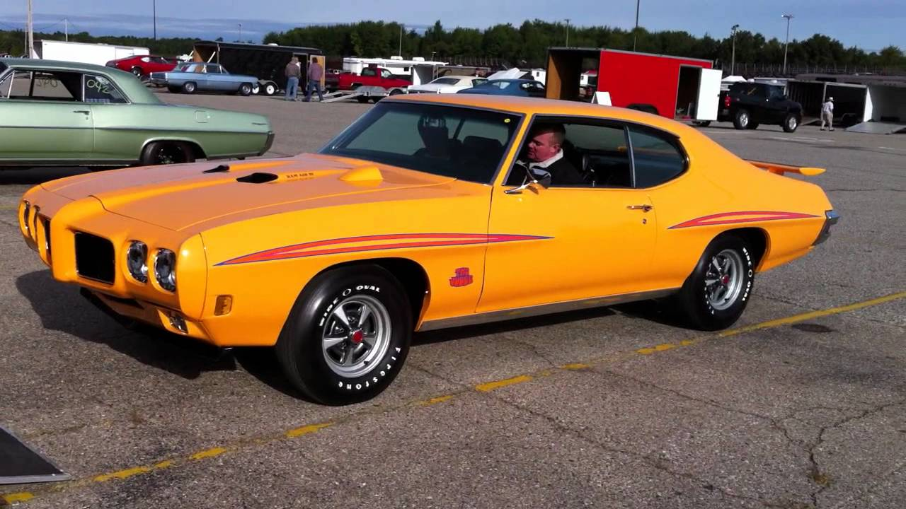 Pure Stock Muscle Car Drag Race Gto Judge Raiv Youtube