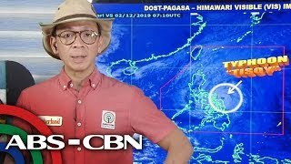 Bagyong Tisoy lumakas mga lugar na nasa Signal no 3 nadagdagan  TV Patrol