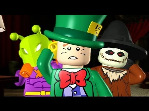 LEGO Batman 100% Guide ~ Villains Ep. 3-1 - A Surprise for the Commissioner (All Minikits/Red Brick)