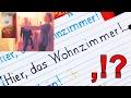 """2.1.2 Bei Christina - Schreiben - """"Hier, das Wohnzimmer!"""" - Satzzeichen"""