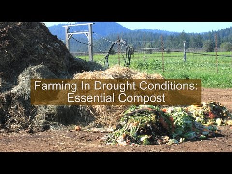 """UC Cooperative Extension  """"Farming In Drought Conditions"""" Series:  Essential Compost"""