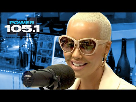 Amber Rose Interview at The Breakfast Club Power 105.1 (02/1