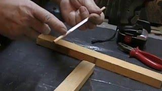 Bricolage : Astuce pour assemblage bois avec tourillons