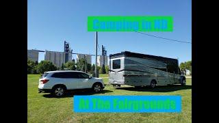 Camping in North Dakota