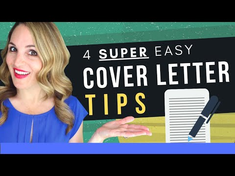 How To Write An INCREDIBLE Cover Letter In 2020 - Cover Letter Examples INCLUDED