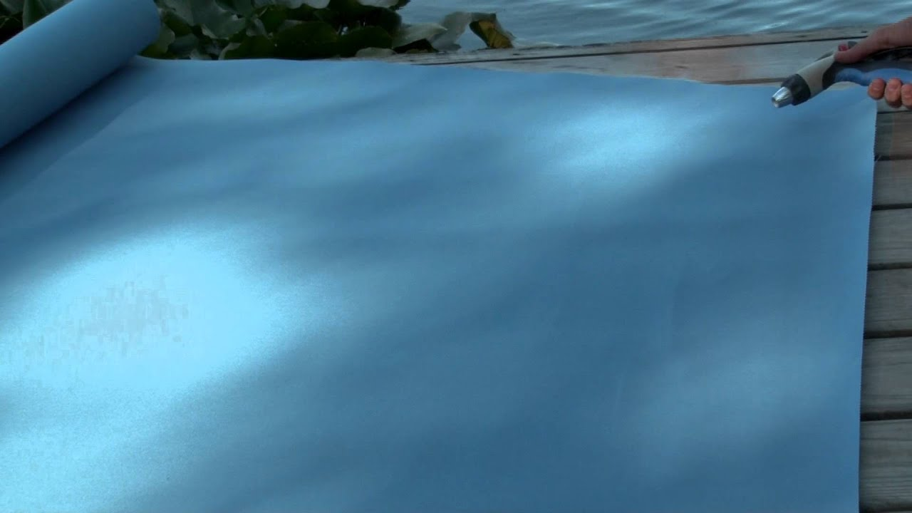 Video of Sunbrella Sky Blue Marine Grade Fabric 4624-0000