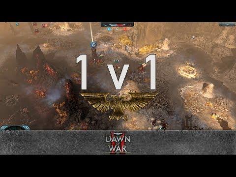 Dawn of War 2: Retribution - 1v1 | Sneery Thug - Apothecary [vs] Tharx Gamma - Lord Commissar