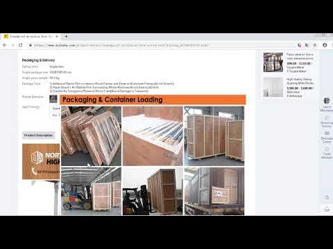 Soundproof accordion door solid wood folding sliding doors by DoorwinGroup.com