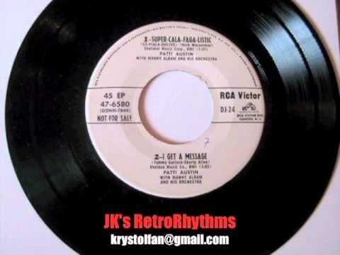 Patti Austin — Super-Cala-Faga-Listic (Es-Piala-Docius) (1955)