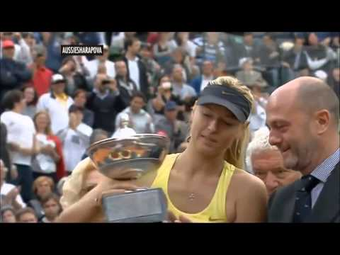 Maria Sharapova 35 WTA titles