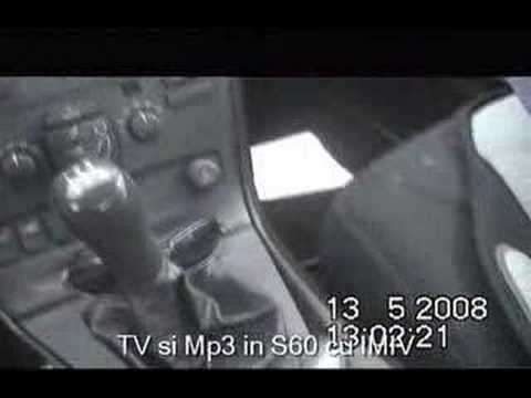 TV Tunner si Mp3 in VOLVO S60