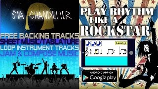 Chandelier - Sia - Sheet Music - Backing Tracks - Free Download