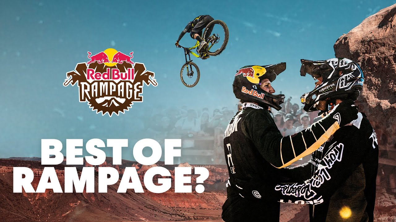 Red Bull Mountain Bike >> Watch Get Ready For Rampage Red Bull Rampage Highlights Over The
