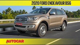 EXCLUSIVE: 2020 Ford Endeavour BS6 2.0 Diesel Review | First Drive | Autocar India
