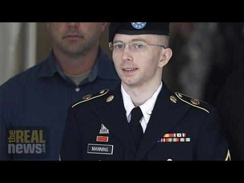 """Military Court Finds Manning Not Guilty of """"Aiding the Enemy"""""""