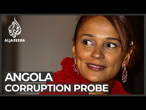 Angolan ex-president's daughter denies stealing a fortune
