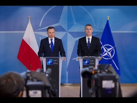 NATO Secretary General with President of Poland, 18 JAN 2016