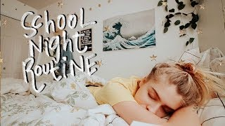 School Night Routine 2018 | Marla Catherine