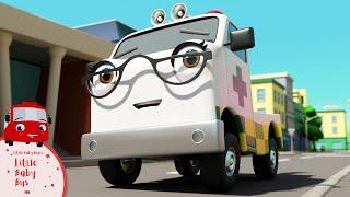 Boo Boo Song - Accidents Happen! | Little Baby Bus | Kids Cartoons | Children's Stories