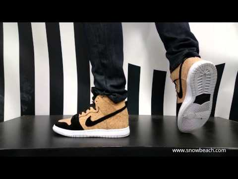 Nike Sb Dunk High Cork