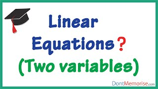Linear Equations in Two Variables ( GMAT / GRE / CAT / Bank PO / SSC CGL)