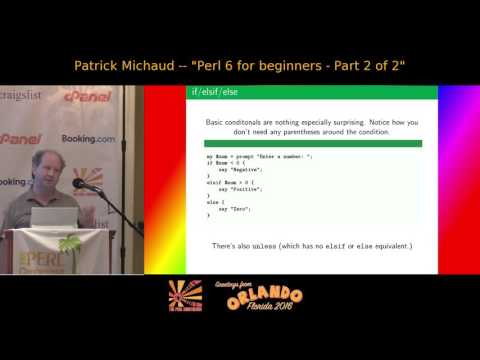 Perl 6 for beginners -- part 2 of 2