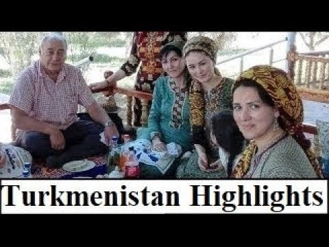 Central Asia/Turkmenistan (Highlights 2018)  Part 28