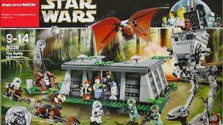 Обзор на лего звёздные войны The Battle of Endor 8038