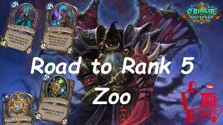 Hearthstone: Road to Rank 5 - Zoo Warlock #2: Rastakhan