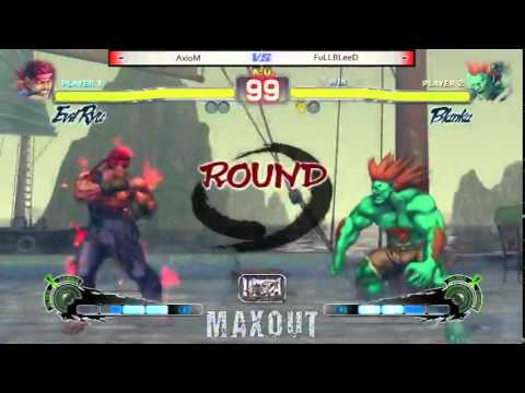 MAXOUT 6212014  Ultra Street Fighter IV Tournament