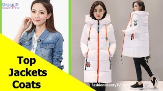 Top 50 Best Jackets and Coats for Women | Best Basic Jackets for Ladies S3