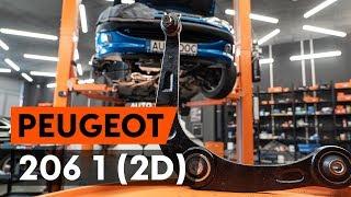 Montaż Wahacz poprzeczny tylne i przednie PEUGEOT 206: instrukcje wideo