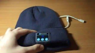 Обзор-тест Bluetooth Шапки. Посылка с интернет магазина Podark-i