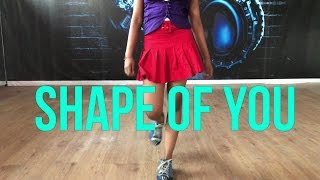 Shape of you Dance | PoppinStrobe Choreography ft. yash & Tiya | Ed Sheeran