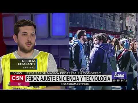 C5N - El Diario:  Científicos contra el ajuste