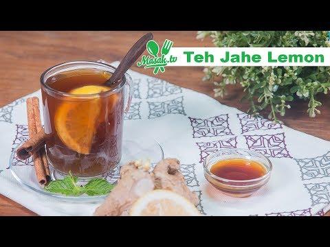 Resep Teh Jahe Lemon