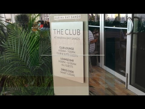 Marina Bay Sands Club Lounge Overview Singapore by HourPhilippines.com